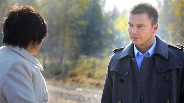 Budzyńska jest bardzo zżyta z Andrzejem, jednak nie zawsze pochwala jego wybory. /www.mjakmilosc.tvp.pl/