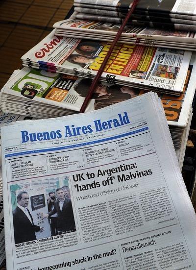 """""""Buenos Aires Herald"""" po 140 latach przestaje się ukazywać jako dziennik /AFP"""