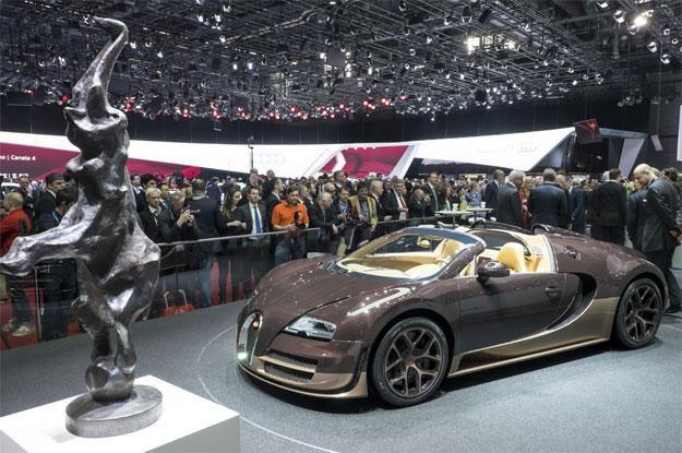 Bugatti Veyron Grand Sport Vitesse Rembrandt /AFP