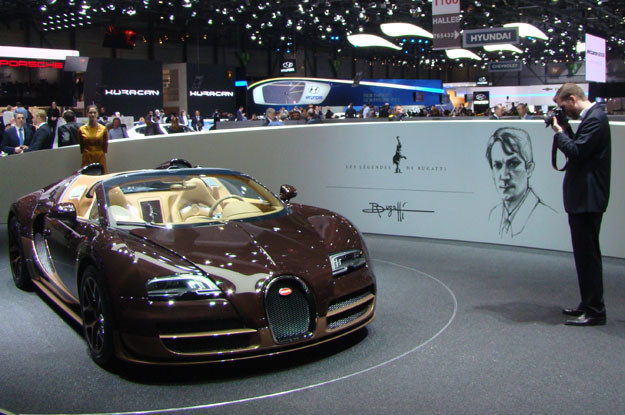 Bugatti Veyron Grand Sport Vitesse Rembrandt /INTERIA.PL