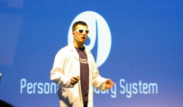 BugBusters z Politechniki Białostockiej podczas prezentacji /INTERIA.PL