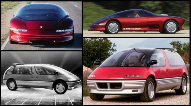 Buick Wildcat i Pontiac Trans Sport /Motor