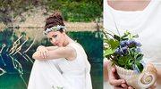 Bukiet ślubny inspirowany Grecją
