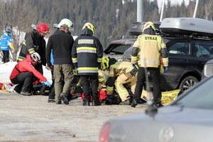 Bukowina Tatrzańska: Zerwany dach przygniótł kilka osób