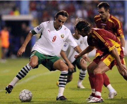 Bułgar uczcił transfer do Man Utd /AFP