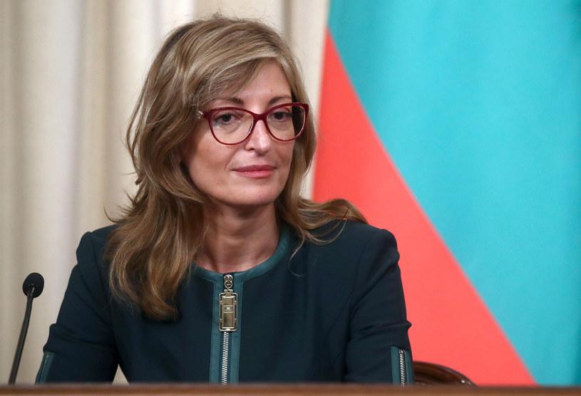 Bułgarska minister spraw zagranicznych Ekaterina Zachariewa /Sergei Fadeichev /Agencja FORUM