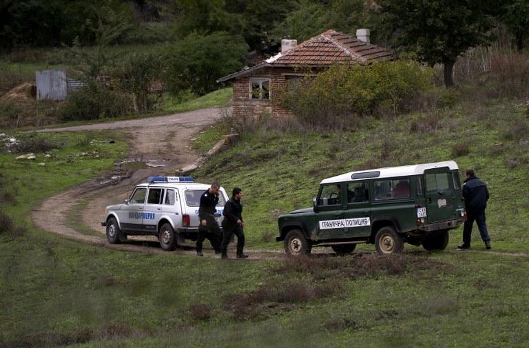 Bułgarska straż graniczna, zdj. ilustracyjne / NIKOLAY DOYCHINOV / AFP  /AFP
