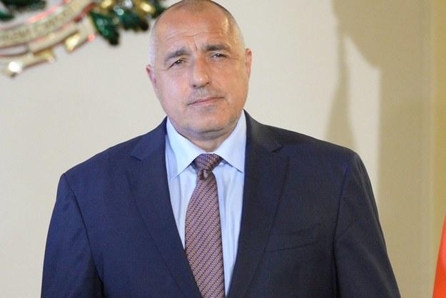 Bułgarski premier Bojko Borysow /Jacek Turczyk /PAP