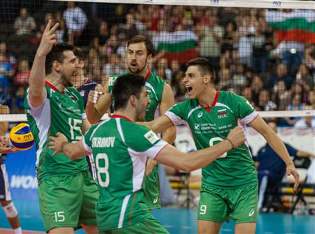 Bułgarzy okazali się lepsi od USA /www.fivb.org