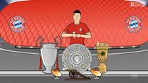 Bundesliga. Animowana historia rekordowego sezonu Lewandowskiego (ZDJĘCIA ELEVEN SPORTS). WIDEO