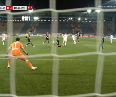 Bundesliga. Arminia Bielefeld - Bayern Monachium 1-4 - skrót (ZDJĘCIA ELEVEN SPORTS). WIDEO