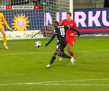 Bundesliga. Arminia Bielefeld - Hertha Berlin 1-0. Skrót meczu (ELEVEN SPORTS). Wideo