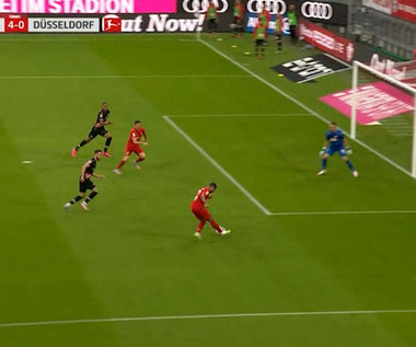 Bundesliga. Bayern Monachium - Fortuna Duesseldorf 5-0 - skrót (ZDJĘCIA ELEVEN SPORTS). WIDEO