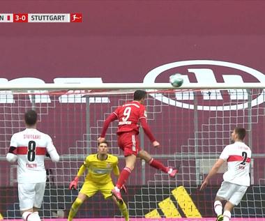Bundesliga. Bayern Monachium - VfB Stuttgart 4-0. Hat-trick Roberta Lewandowskiego (ELEVEN SPORTS). Wideo