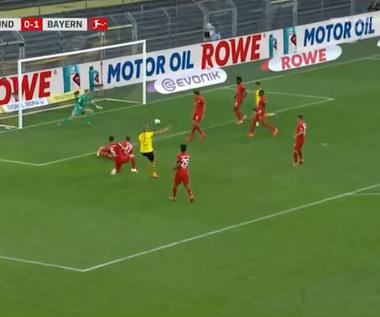 Bundesliga. Borussia Dortmund - Bayern Monachium 0-1 - skrót (ZDJĘCIA ELEVEN SPORTS). WIDEO