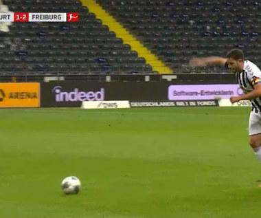Bundesliga. Eintracht Frankfurt - SC Freiburg 3-3 - skrót (ZDJĘCIA ELEVEN SPORTS). WIDEO