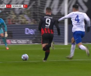 Bundesliga. Eintracht Frankfurt - Schalke 04 Gelsenkirchen 3-1. Skrót meczu (ELEVEN SPORTS). Wideo