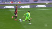 Bundesliga. Eintracht Frankfurt - VfL Wolfsburg 4-3 - skrót (ZDJĘCIA ELEVEN SPORTS). WIDEO