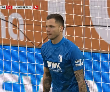 Bundesliga.  FC Augsburg - 1. FC Union Berlin 2-1 - skrót (ZDJĘCIA ELEVEN SPORTS). WIDEO