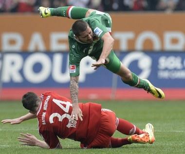 Bundesliga: FC Augsburg - Bayern Monachium 1-0. Koniec serii Bawarczyków