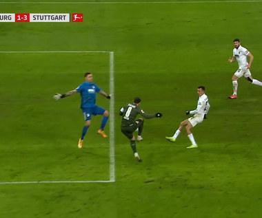 Bundesliga. FC Augsburg - VfB Stuttgart 1-4. Skrót meczu (ELEVEN SPORTS). Wideo