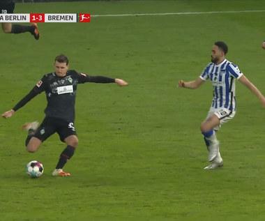 Bundesliga. Hertha BSC - Werder Brema 1-4 - skrót (ZDJĘCIA ELEVEN SPORTS). WIDEO