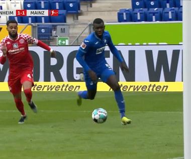 Bundesliga. Hoffenheim - Mainz 1-2 - skrót (ZDJĘCIA ELEVEN SPORTS). WIDEO