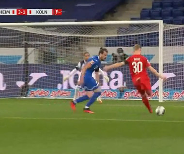 Bundesliga. TSG Hoffenheim - 1. FC Koeln 3-1 - skrót (ZDJĘCIA ELEVEN SPORTS). WIDEO