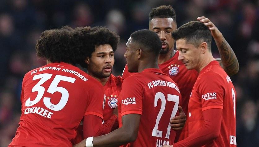 Bundesliga. TSG Hoffenheim - Bayern Monachium. Mecz trwa