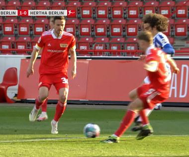 Bundesliga. Union Berlin - Hertha Berlin 1-1 - skrót. WIDEO
