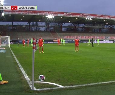Bundesliga. Union Berlin - VfL Wolfsburg 2-2 - skrót (ZDJĘCIA ELEVEN SPORTS). WIDEO