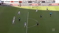 Bundesliga. VfB Stuttgart - Freiburg 2-3 - skrót (ZDJĘCIA ELEVEN SPORTS). WIDEO