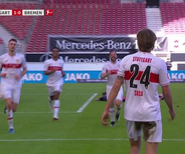 Bundesliga. VfB Stuttgart - Werder Brema 1-0 - skrót. WIDEO