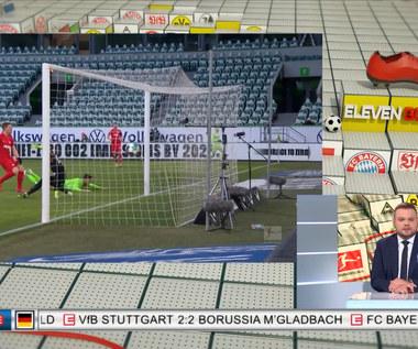Bundesliga. VfL Wolfsburg - RB Lipsk 2-2 - skrót (ZDJĘCIA ELEVEN SPORTS). WIDEO