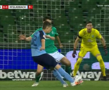 Bundesliga. Werder Brema - Borussia M'gladbach 0-0 - skrót (ZDJĘCIA ELEVEN SPORTS). WIDEO