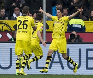 Bundesliga: Zwycięstwa Borussii Dortmund i Bayernu. Gol Lewandowskiego