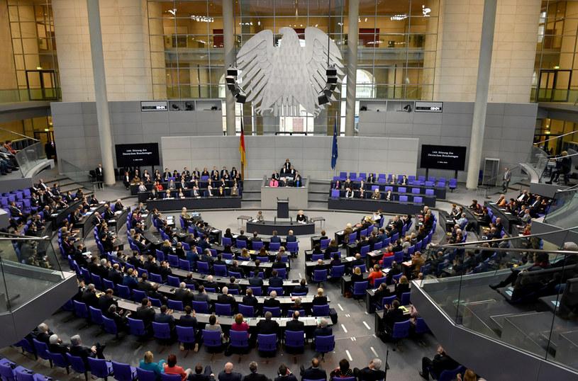 Bundestag /ANNEGRET HILSE /Agencja FORUM
