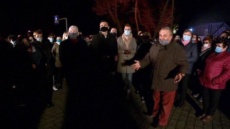 Bunt parafian. Nie chcą proboszcza z Czernikowa /Polsat News