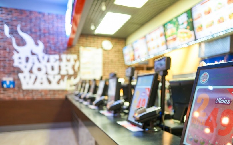 Burger King wystartował w lipcu z kampanią bożonarodzeniową... /123RF/PICSEL
