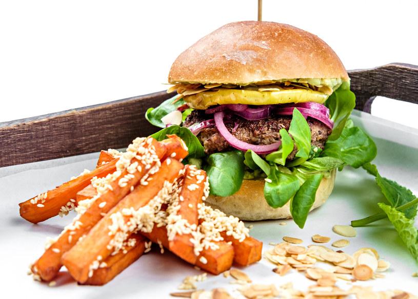 Burger wegetariański /materiały prasowe