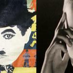 Burleski Chaplina, reklamy z Garbo