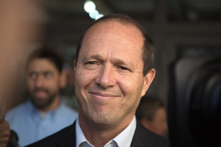 Burmistrz Jerozolimy Nir Barkat /AFP