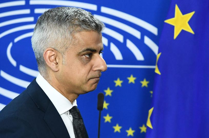 Burmistrz Londynu Sadiq Khan /EMMANUEL DUNAND /AFP