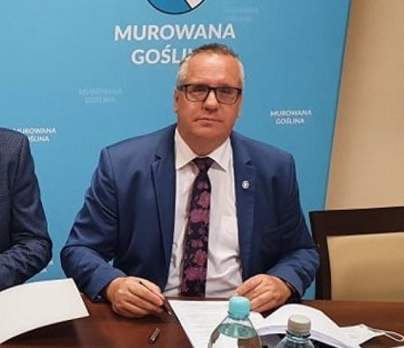 Burmistrz Murowanej Gośliny Dariusz Urbański /Urząd Miasta Murowana Goślina /Archiwum