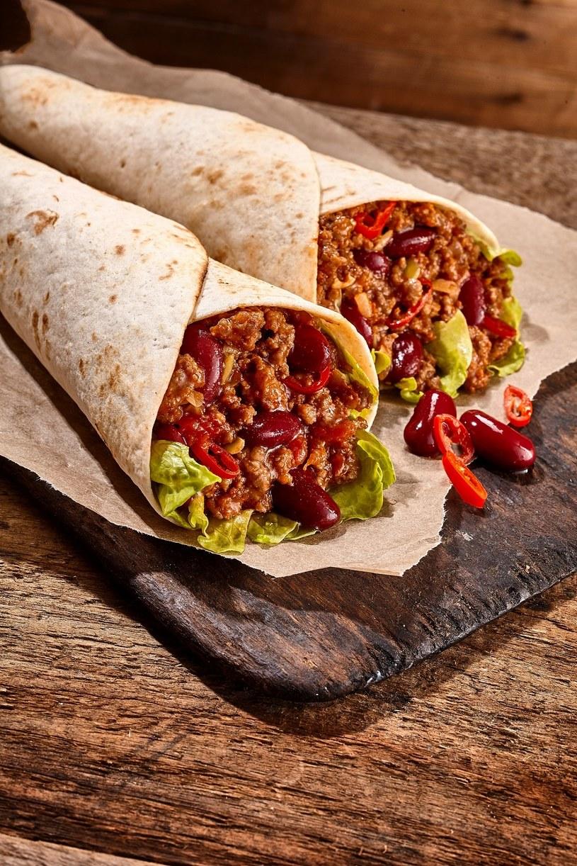 Burrito z wołowiną /materiały prasowe