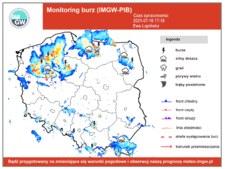 Burza i ulewny deszcz. Bydgoszcz liczy straty