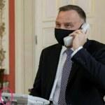 Burza na Twitterze: Czy prezydent Andrzej Duda miał podłączony telefon?