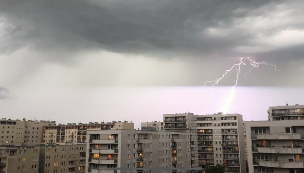 Burza nad Krakowem /RMF FM /