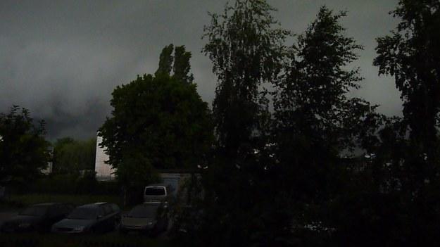 Burza nad Płockiem /Gorąca Linia /RMF FM
