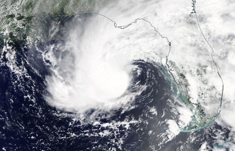 Burza subtropikalna Alberto /NASA WORLDVIEW /PAP/EPA